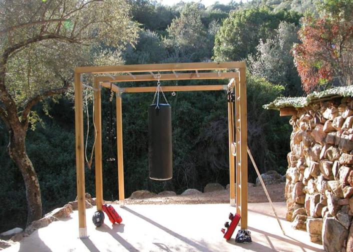 Espace entraînement et training à l'Oliveraie du Fango