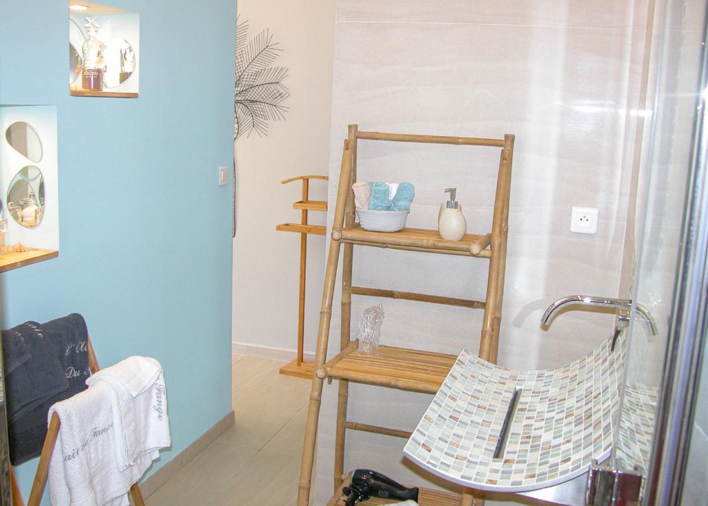 Salle de bain de la chambre Girolata